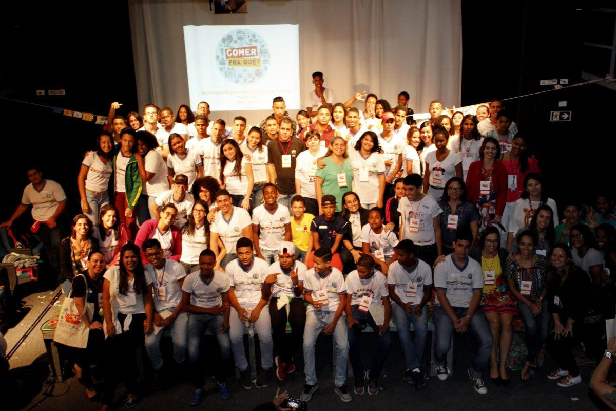 """Lançamento do """"Comer pra quê? em Recife"""