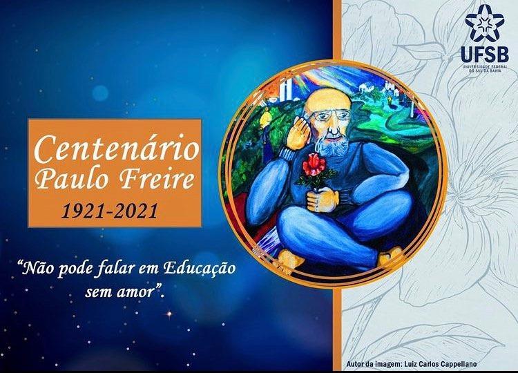 CPQ na UFSB – 100 anos de Paulo Freire